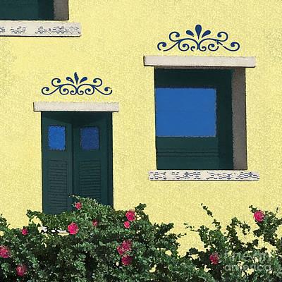 Puerto Rico Digital Art - Island Windows by Deborah Smith