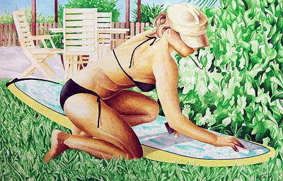 Islander Art Print