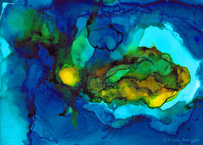 Painting - Islands by Angela Treat Lyon