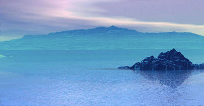 Islands In The Mist Art Print