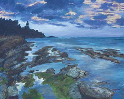 Painting - Isle Coast by Cynthia Morgan