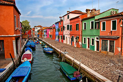 Photograph - Isle Of Burano by Peter Tellone