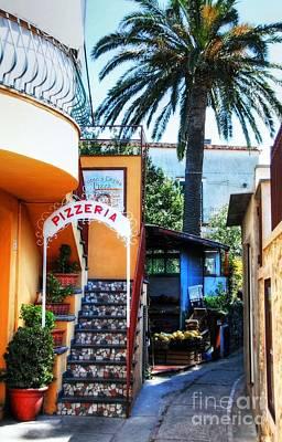 Photograph - Isle Of Capri Pizzeria by Mel Steinhauer