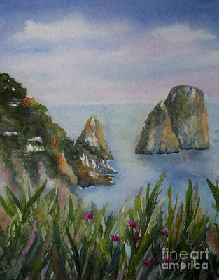 Painting - Isle Of Capri by Vicki Brevell