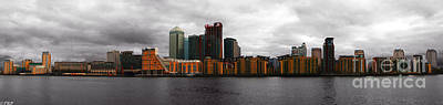 Photograph - Isle Of Dogs  by Size X