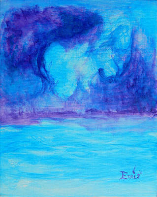 Painting - Isle Of Luminesence by Christophe Ennis