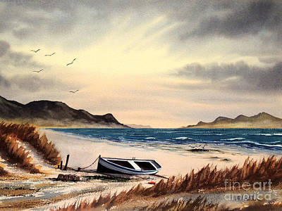 Scotch Painting - Isle Of Mull Scotland by Bill Holkham