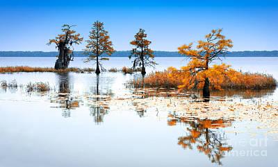 Great Mixed Media - Isle Of Peace - North Carolina by Dan Carmichael