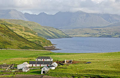 Scifi Portrait Collection - Isle of Skye Loch Harport by Chris Thaxter
