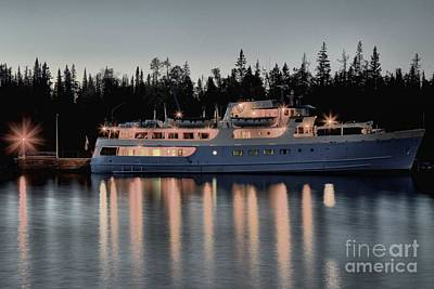 Photograph - Isle Royale Cruise by Adam Jewell