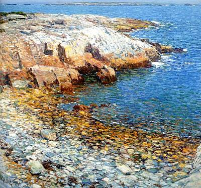 Frederick Digital Art - Isles Of Shoals by Frederick Childe Hassam