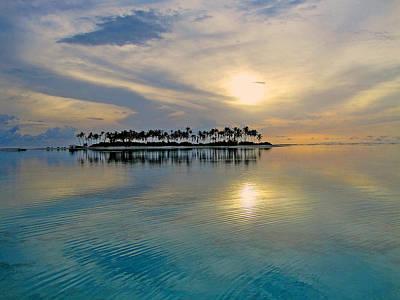 Islet Love. Maldives Texture. Original by Andy Za