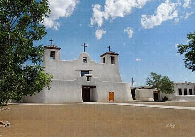San Agustin Photograph - Isleta Mission by Gordon Beck
