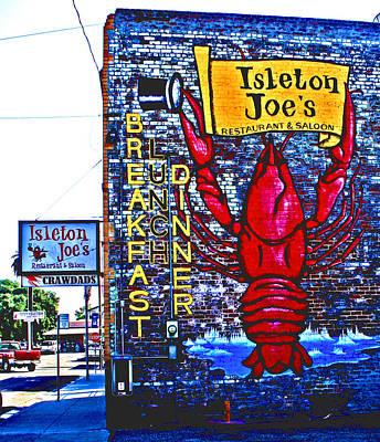 Digital Art - Isleton Joe's Saloon by Joseph Coulombe