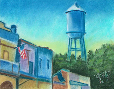 Painting - Isleton Old Town by Michael Foltz