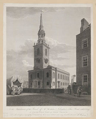 Sw Photograph - Islington Church St. Mary's by British Library