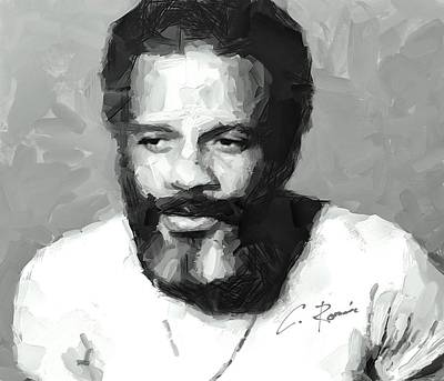 Painting - Ismael Rivera by Charlie Roman
