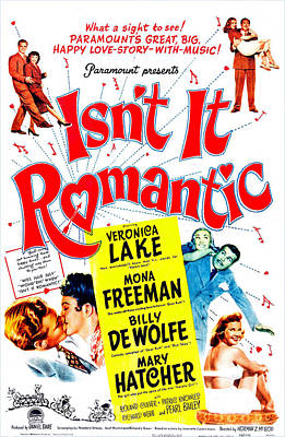 Isnt It Romantic, Us Poster, Veronica Art Print by Everett