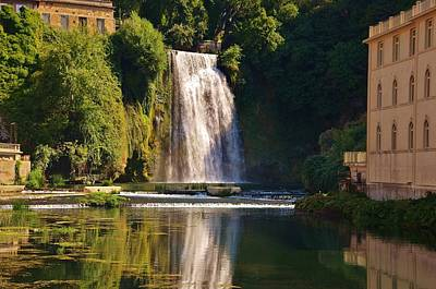 Photograph - Isola Del Liri Falls by Dany Lison
