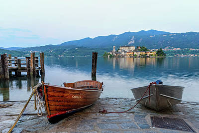 Isola San Giulio Print by Tom Norring