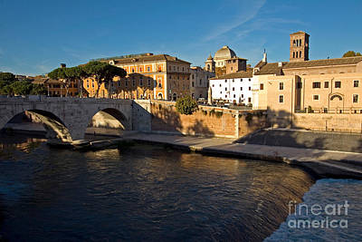 Tiber Island Wall Art - Photograph - Isola Tiberina by Tim Holt