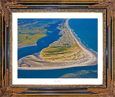 Topsail Island Photograph - Isolated Luxury Framed by Betsy Knapp