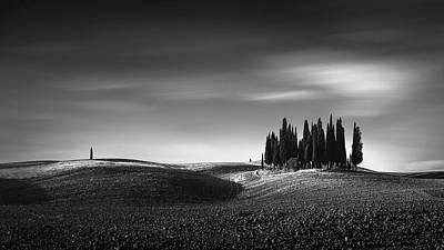 Tuscany Italy Photograph - Isolation II by Oscar Lopez
