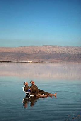 Jordan Photograph - Israel, Dead Sea by David Noyes
