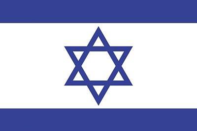 Photograph - Israeli Flag by Colette Scharf