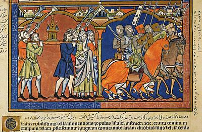 Israelites Ark Of Covenant Art Print by Granger