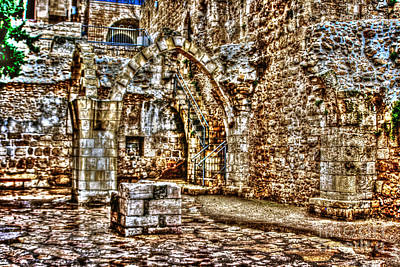 Art Print featuring the photograph Israels Ruins by Doc Braham
