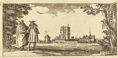 Israël Silvestre French, 1621 - 1691, Plan General Du Art Print by Quint Lox