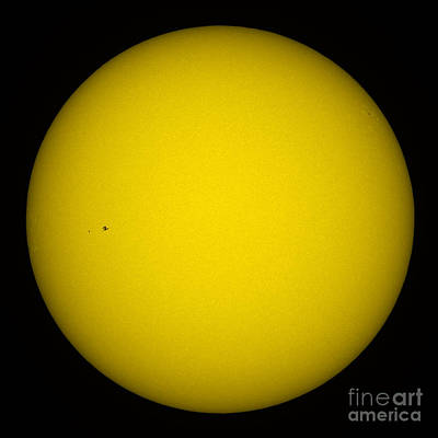 Photograph - Iss And Sun by Thierry Legault