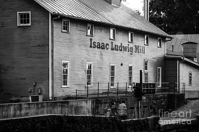 Photograph - Issac Ludwig Mill 5 by Michael Arend