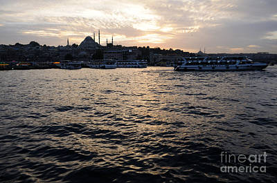 Photograph - Istanbul Bosphorus Port by Haleh Mahbod