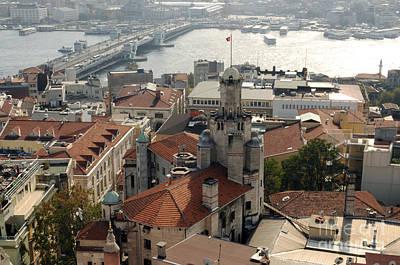 Photograph - Istanbul Bridge by Haleh Mahbod