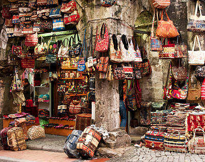 Grand Bazaar Photograph - Istanbul Grand Bazaar 04 by Rick Piper Photography