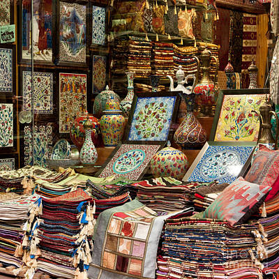 Grand Bazaar Photograph - Istanbul Grand Bazaar 07 by Rick Piper Photography