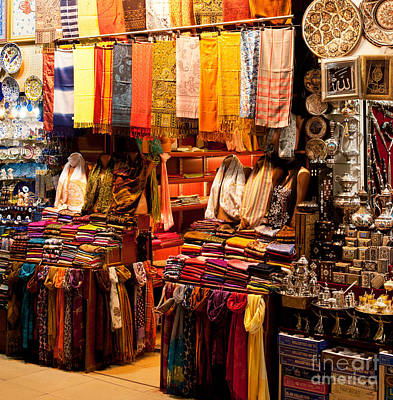 Grand Bazaar Photograph - Istanbul Grand Bazaar 08 by Rick Piper Photography