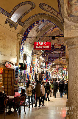 Photograph - Istanbul Grand Bazaar 09 by Rick Piper Photography