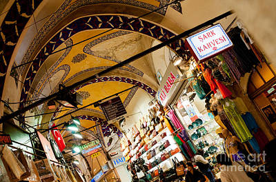 Photograph - Istanbul Grand Bazaar 11 by Rick Piper Photography