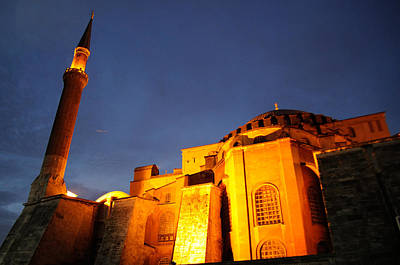 Photograph - Istanbul - Hagia Sophia by Haleh Mahbod