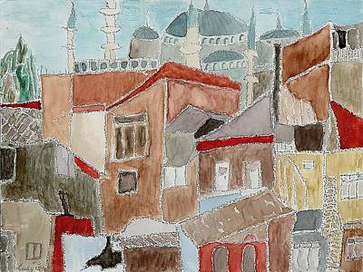 Painting - Istanbul by Lesley Fletcher