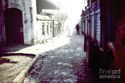 Istanbul Man In The Distance Art Print by Scott Shaw
