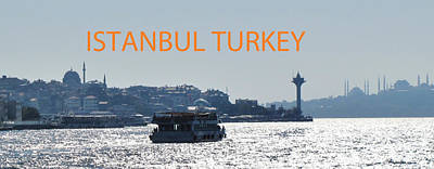 Photograph - Istanbul Poster by Ian  MacDonald