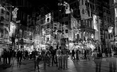 Photograph - Istanbul Street Mosaic by Jim Vance