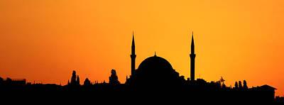 Ottoman Photograph - Istanbul Sunset by Stephen Stookey