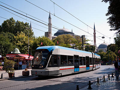 Photograph - Istanbul Tram 01 by Rick Piper Photography