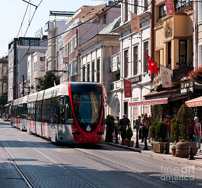 Photograph - Istanbul Tram 02 by Rick Piper Photography