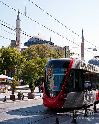 Photograph - Istanbul Tram 03 by Rick Piper Photography